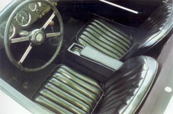 Center Console with Leather Armrest