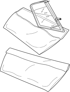 Side Curtain Pouches
