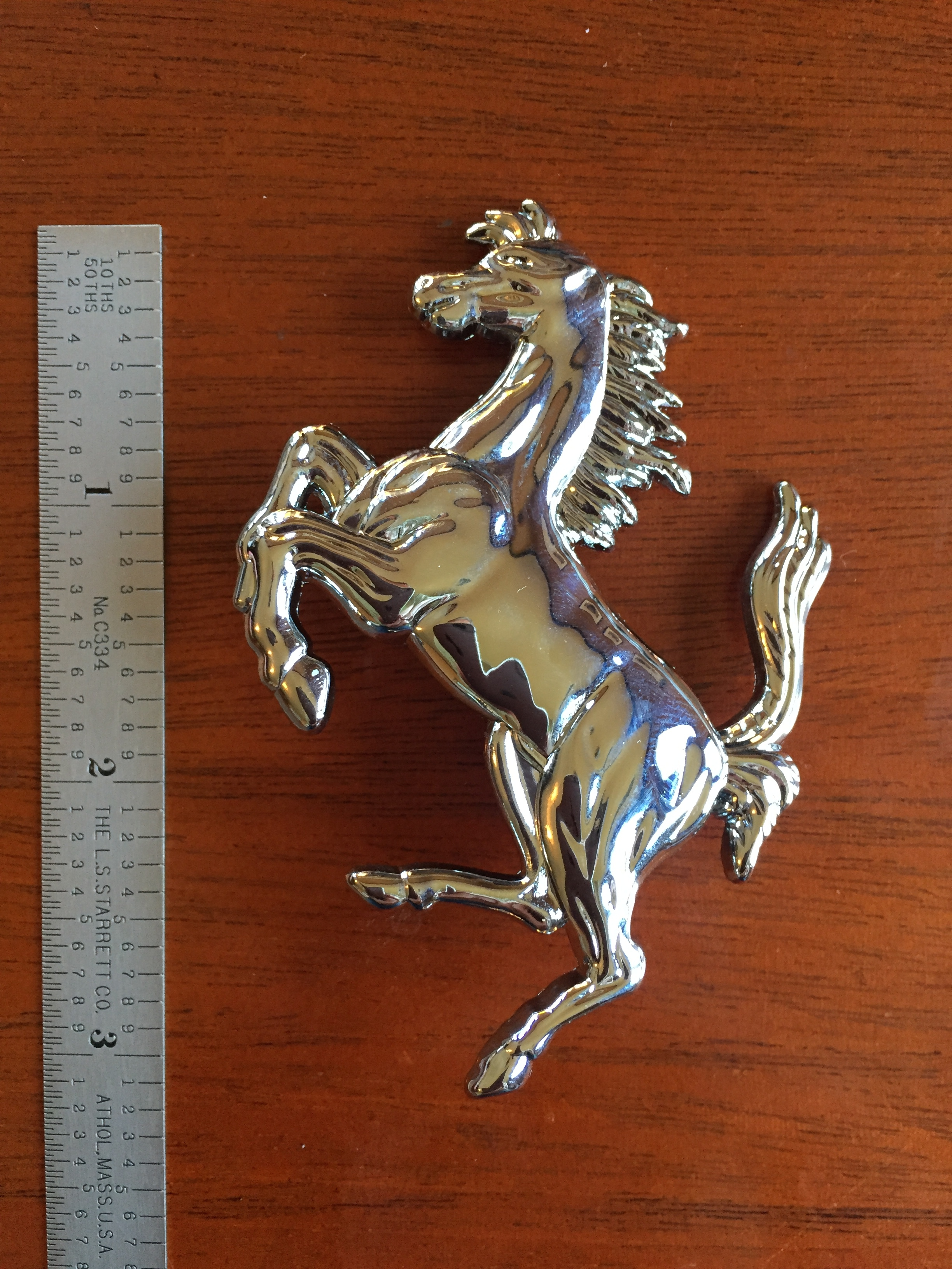 3 inch (75mm) Prancing Horse for 308