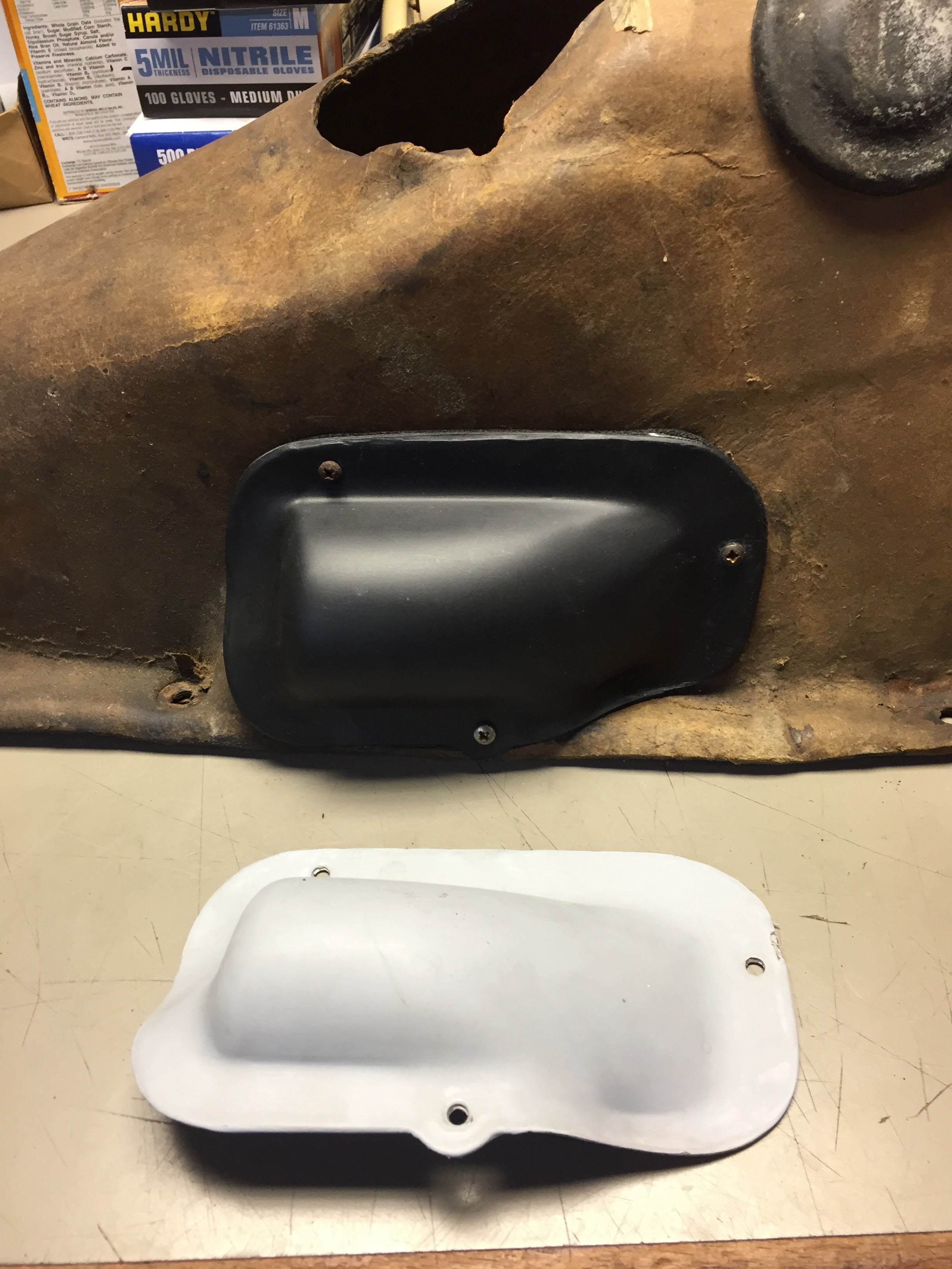 """Bump-Out""  Access Cover for TR Gearbox Cover"