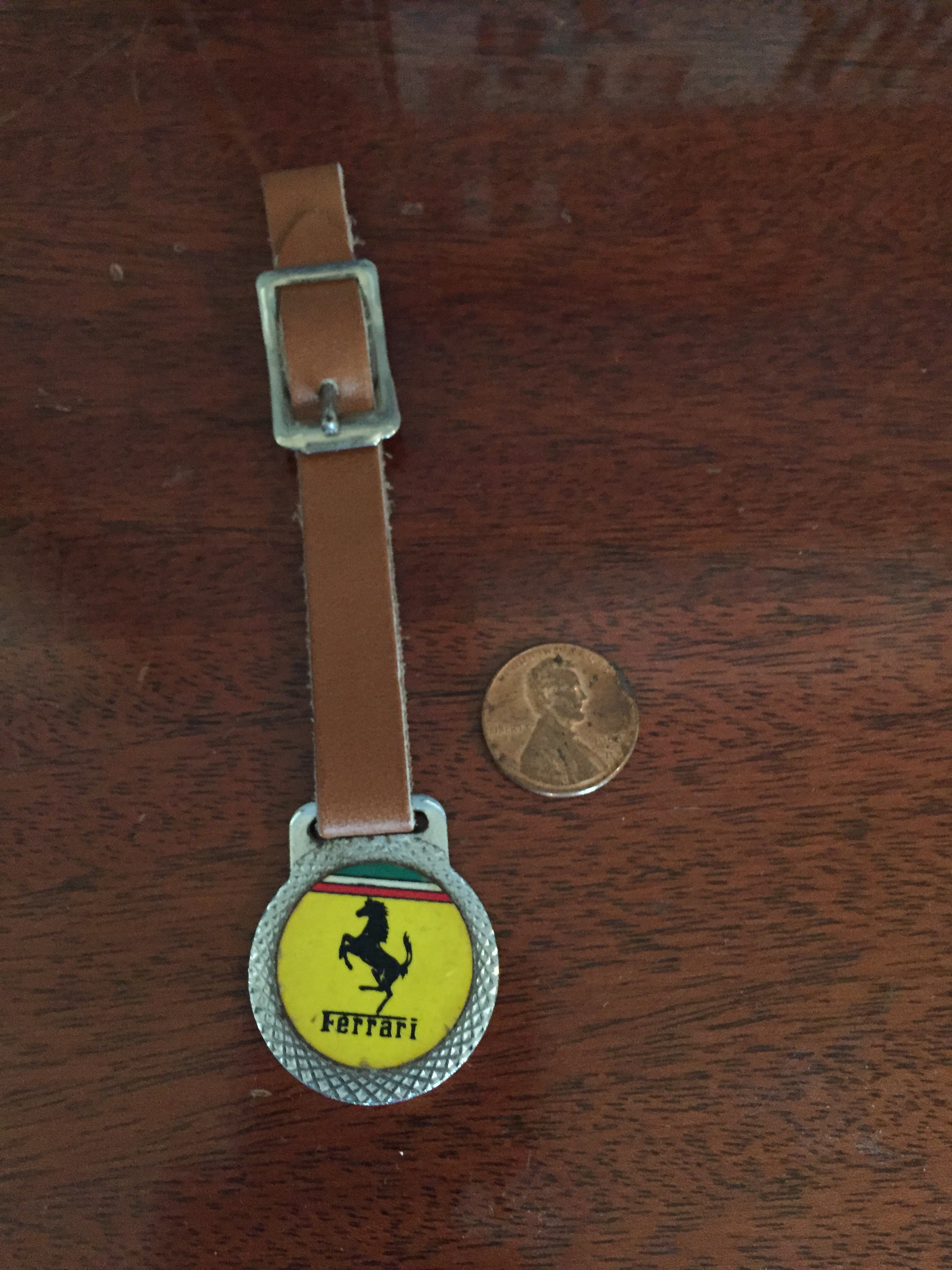 Vintage Luggage Fob (One Available)