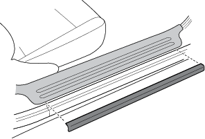 Auxiliary Sill Protectors (1999+)